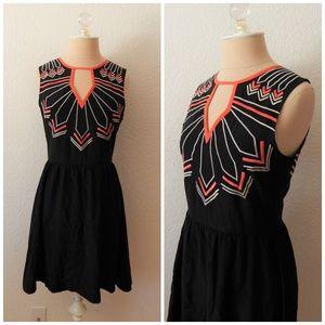 Chloe Oliver Anthropologie Embroidered Dress